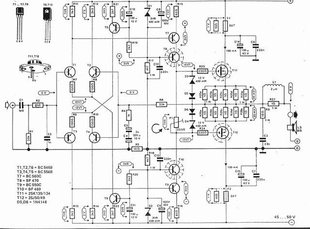 merakit elektor u2019s mini crescendo amplifier versinya bbm