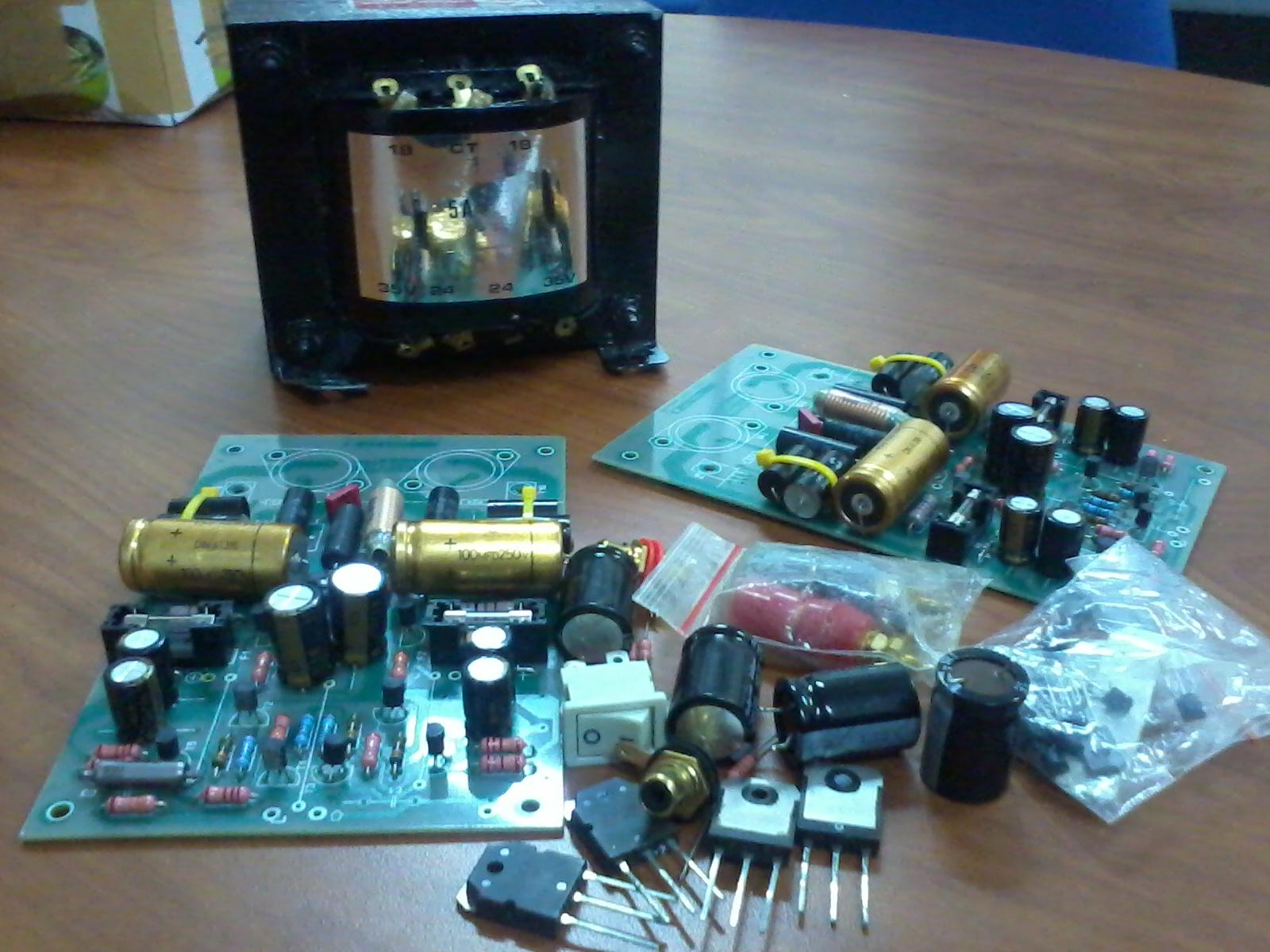 Sepasang Kit mini crescendo siap dirakit, cocok buat ngisi waktu