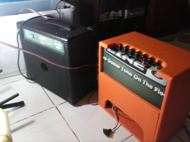 Cek Sound Ampli kamar Custom, compare sama Ampli Pabrikan stagg