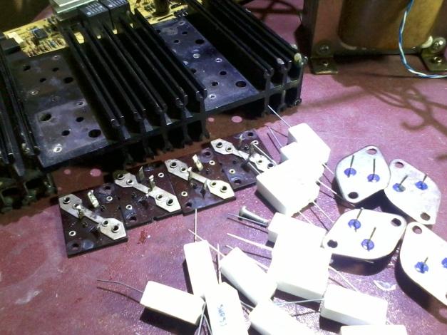 Transistor 2N3055 , Pendingin dan aksesories