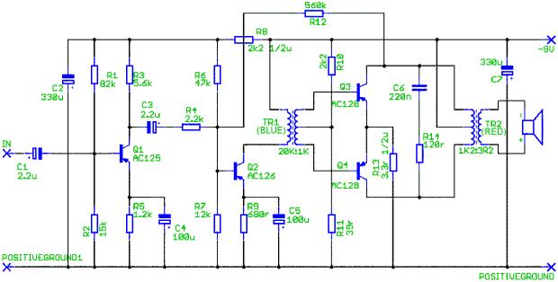 Skema Deacy Amplifier. Source: ebay.com
