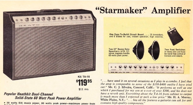 Iklan Jadul Heathkit Amplifier. Sumber : preservationsound.com