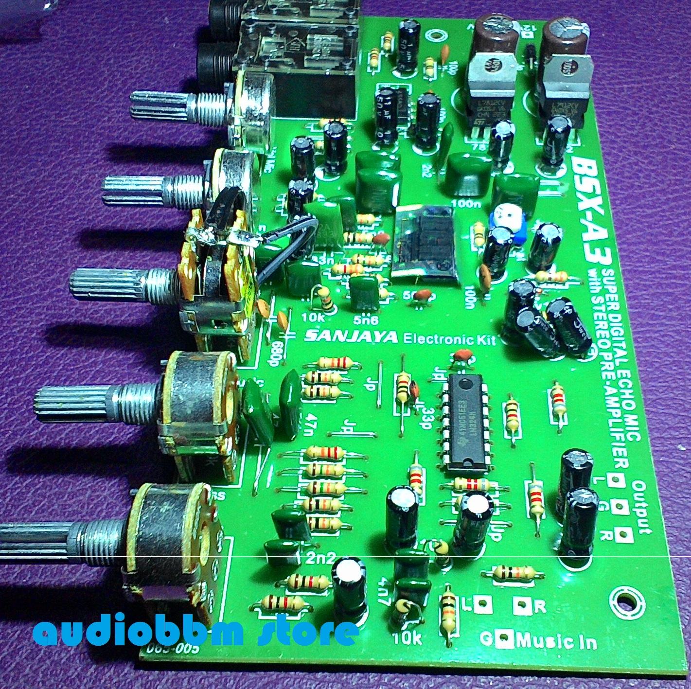 pre amp tone control sub filter