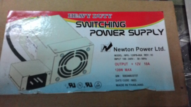 SMPS Power Supply 12V 10A