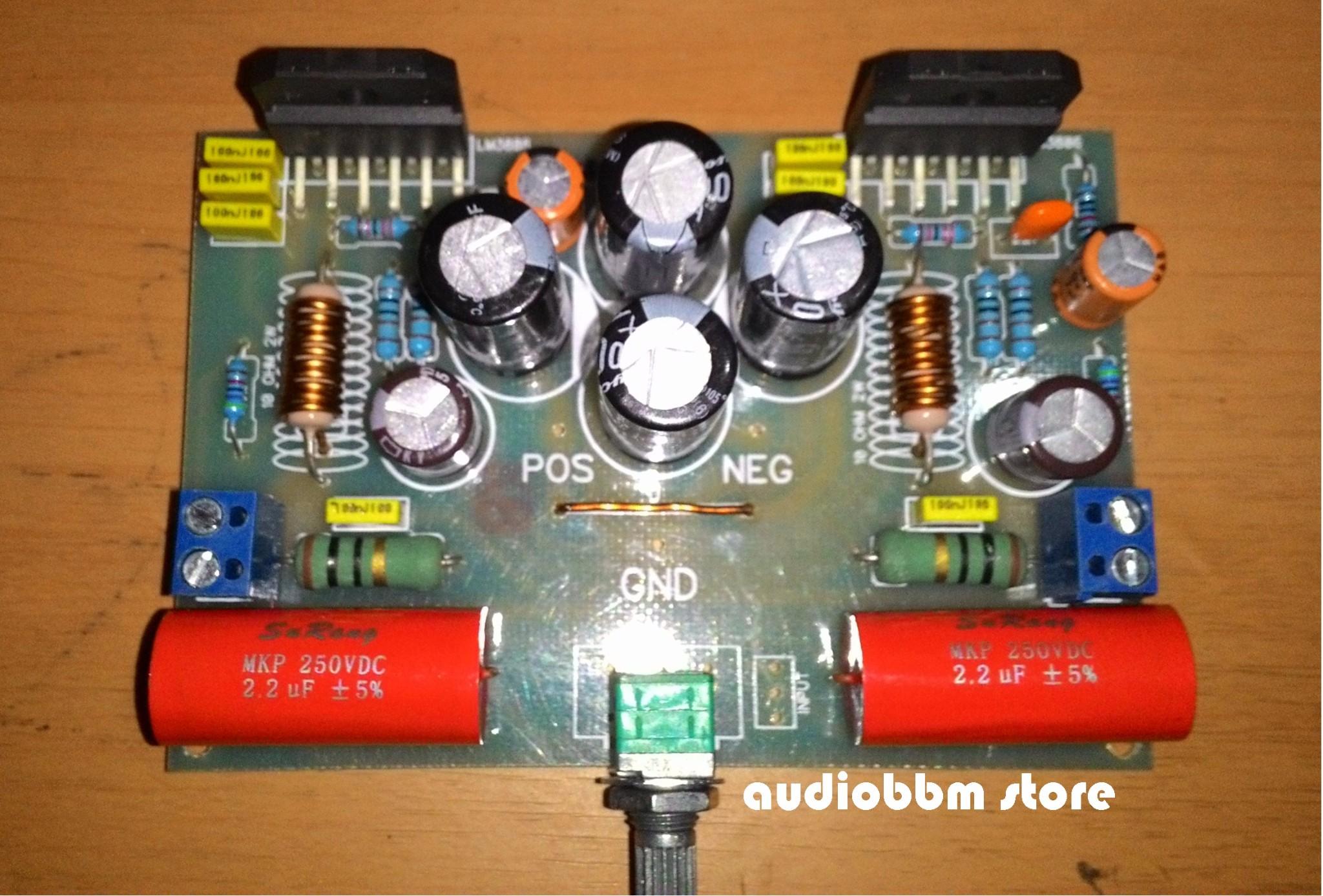 gainclone chip amplifier audiobbmcom lets do it