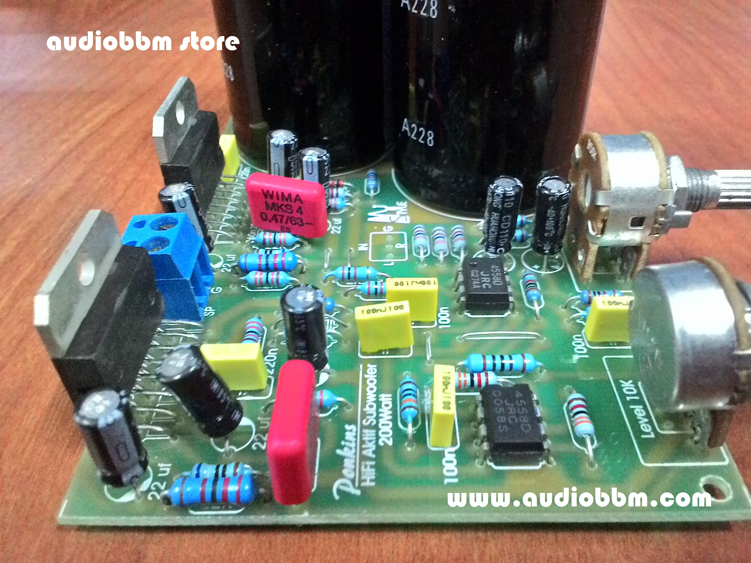 Subwoofer 21 Amplifier Lets Do It Tda7294 100w Audiio Jpeg