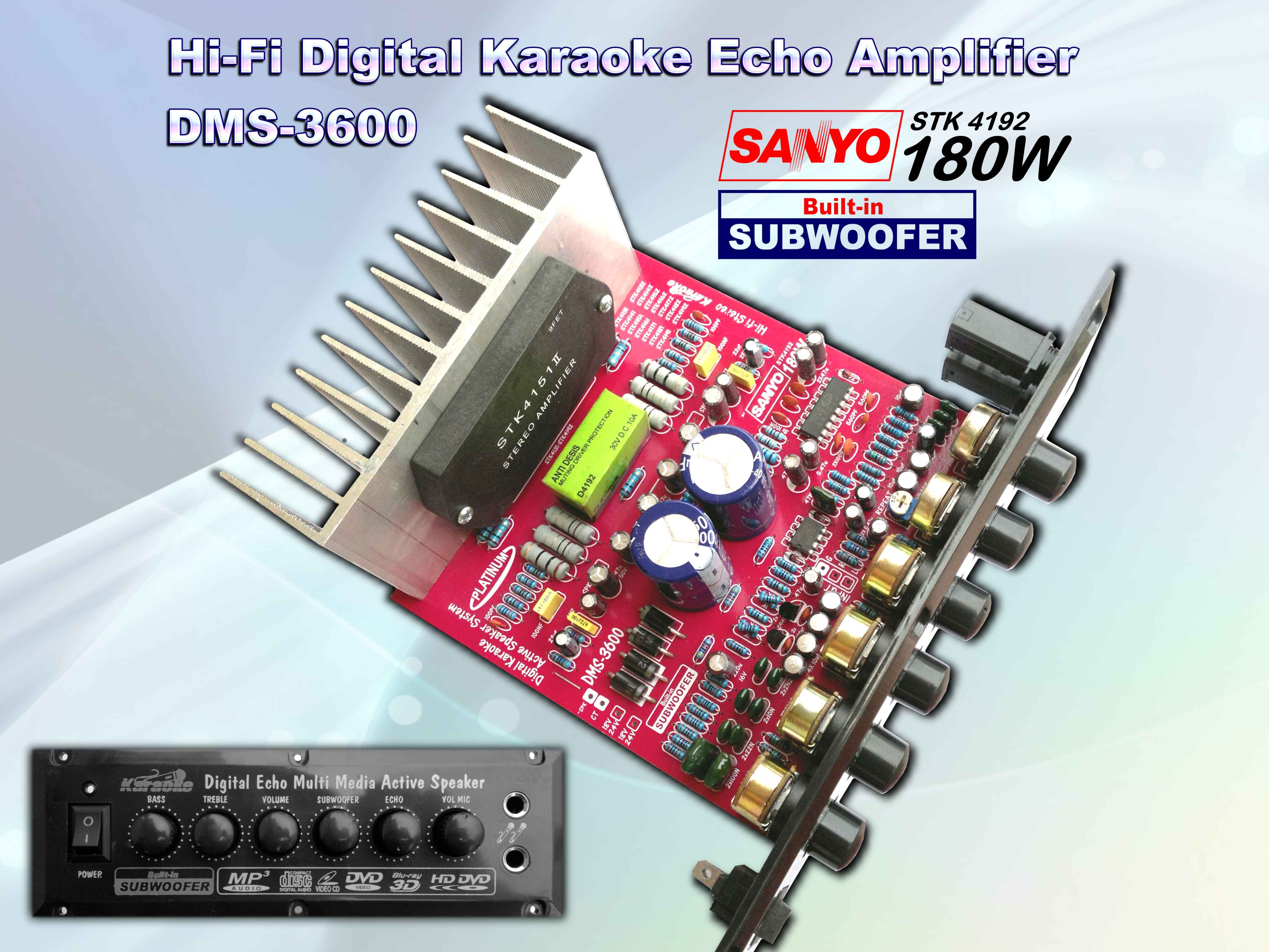 Aktive Dms 3600 Lets Do It Stk Audio Circuit