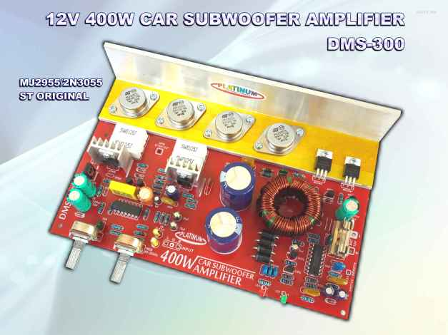 CAR AMPLIFIER DMS-300