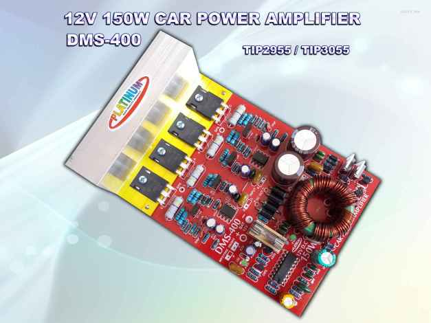 CAR AMPLIFIER DMS-400