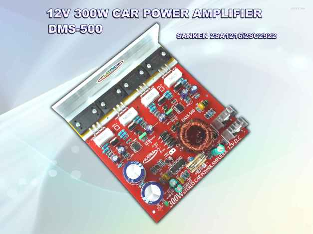 CAR AMPLIFIER DMS-500