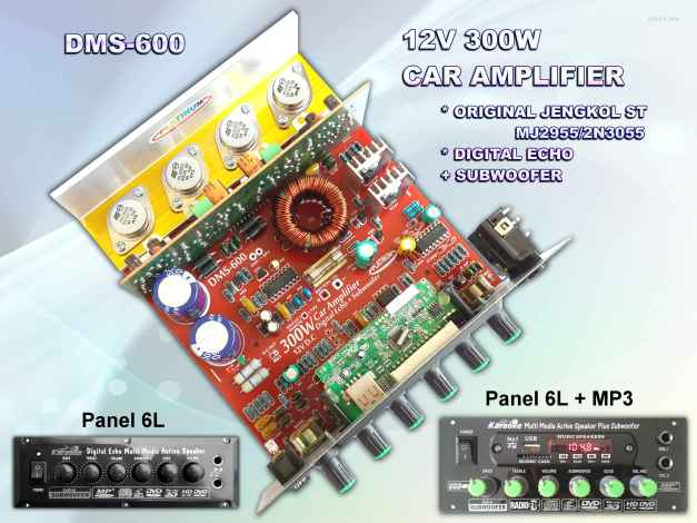 CAR AMPLIFIER DMS-600