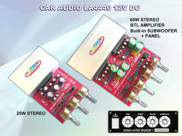 CAR AUDIO LA4440