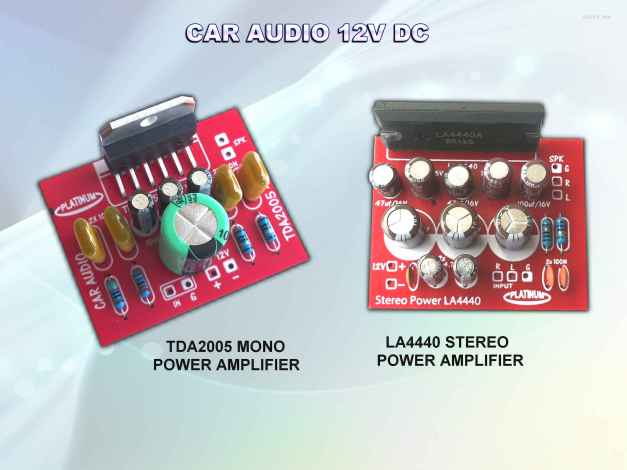 CAR AUDIO POWER LA4440 TDA2005