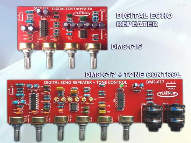 Digital Echo DMS-615 & 617