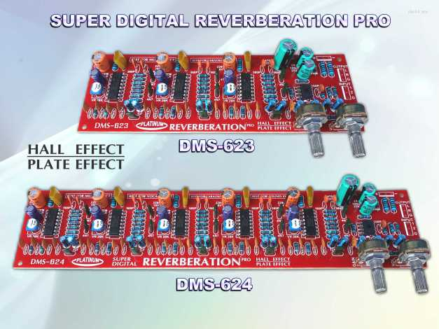 DIGITAL REVERBERATION DMS-623 & DMS-624