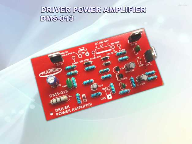 DRIVER AMPLIFIER DMS-013