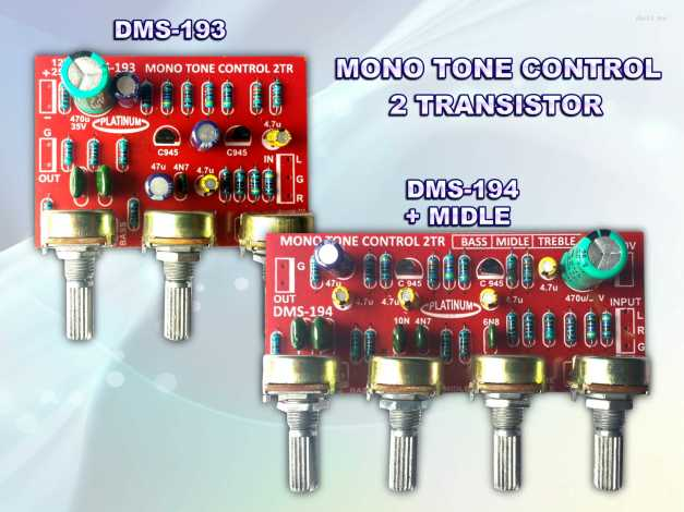 TONE MONO DMS-193 & DMS-194