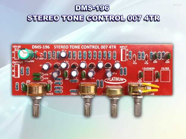 Tone STEREO DMS-196