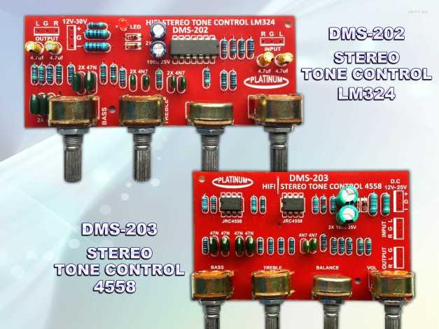 Tone STEREO DMS-202 & DMS-203