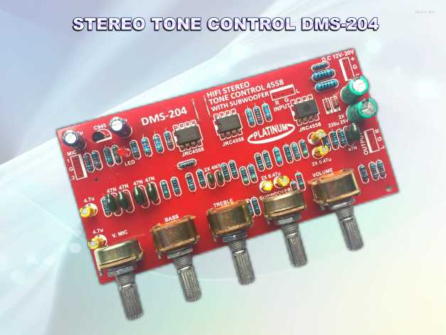 Tone STEREO DMS-204