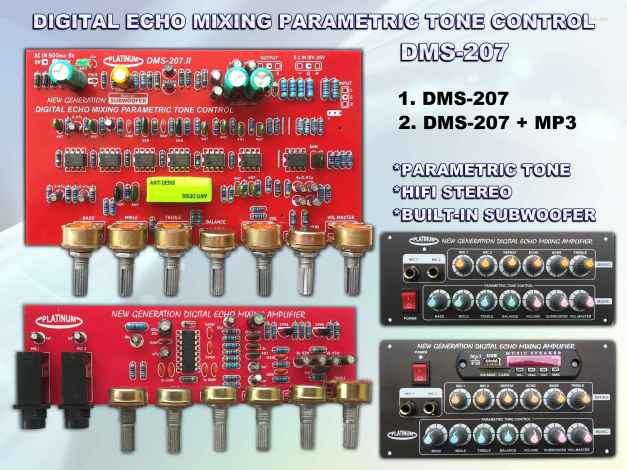 Tone STEREO DMS-207