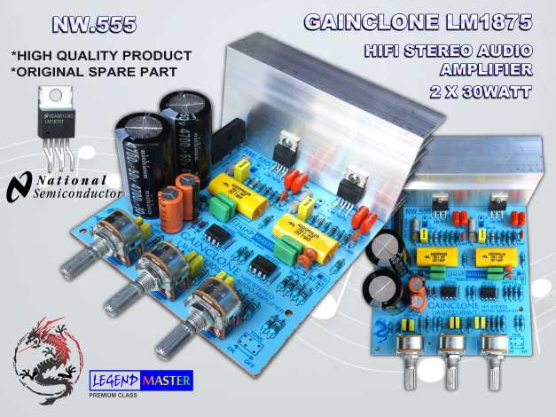 GAINCLONE LM1875